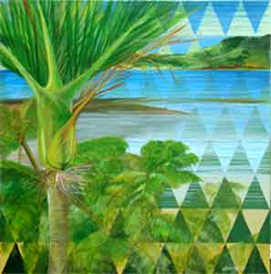 A Patterned Heritage Aotea Harbour with Nikau